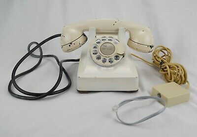Western Electric 1949 302 rotary dial telephone - WORKS  (#Q06)
