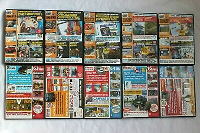 PC Format Magazine Cover Discs x10 - 2002, 2003, 2005 and 2006