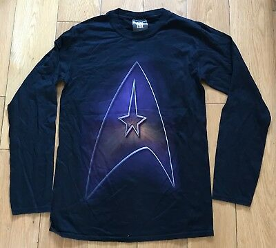 Star Trek Rare Destination Star Trek Convention Event 2014 L/S T Shirt Small New