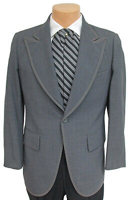 Boy's 7 Vintage Grey Stroller Jacket Stresemann Morning Dress Day Wedding Suit