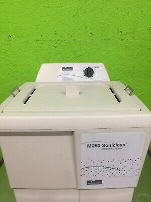 Midmark M250 Soniclean Ultrasonic Cleaner M250 With Basket - TESTED