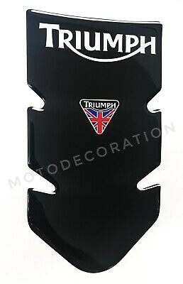 TRIUMPH TANKPAD * AWESOME NEW BLACK TANK PAD for TRIUMPH MOTORCYCLE