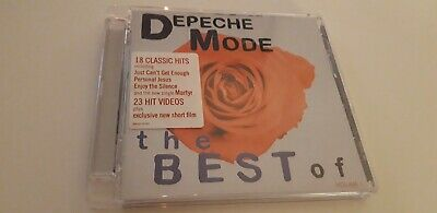 Depeche Mode The Best Of Cd + Dvd 2006 18 Tracks In Very Good Condition - 2 Disc