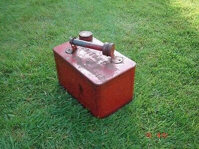 Old Vintage Classic Petrol Fuel Can Tank