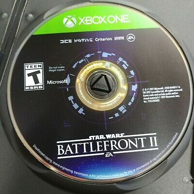 EA - Star Wars: Battlefront II (Microsoft Xbox One, 2017) - Game Disc ONLY