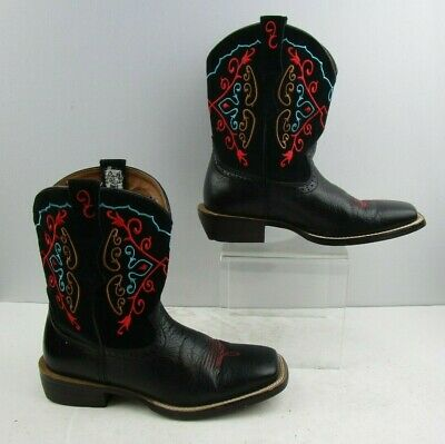 e05cd793005 LADIES ARIAT FATBABY Black Leather Western Boots Size : 9 B