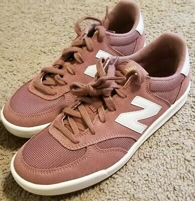 NEW BALANCE 300 Dark Pink Suede Womens Lifestyle Casual Shoes WRT300FH B US 8.0
