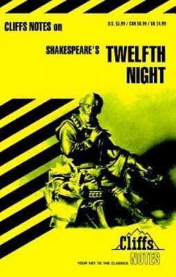 Shakespeare's Twelfth Night (Cliffs Notes), James L. Roberts, Good Book