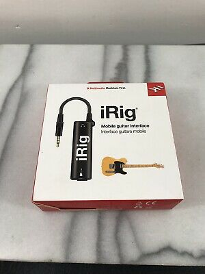 Multimedia AmpliTube iRig Guitar Interface Adaptor Converter For IOS Device