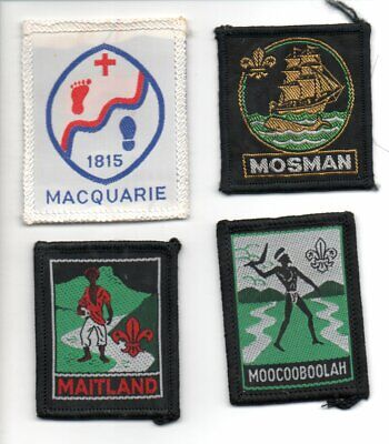 Nsw Scout Badges   (102)