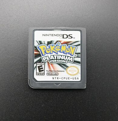 Pokemon Platinum Version Game Card For Nintendo NDS 3DS DSI NDSL Hot New