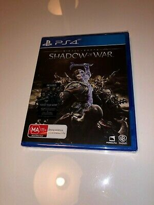 Middle Earth: Shadow of War - PS4 - Brand New sealed