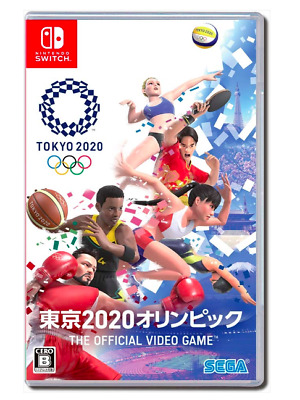 Tokyo 2020 Olympics The Official Video Game - Switch