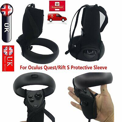 2* Anti-skid Handle Protector Sleeve Cover for Oculus Quest/Rift S VR Headset UK