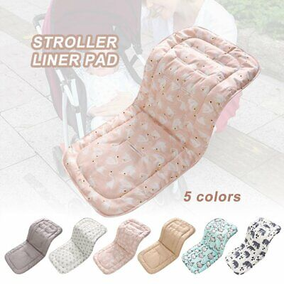 Washable Soft Baby Kid Stroller Pram Pushchair Car Seat Liner Pad Mat Cushion %N