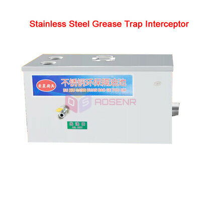Stainless Steel  Wastewater Grease Trap Interceptor for Restaurant Kitchen