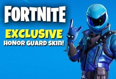 ✅24/7 Shopping✅ Fortnite Honor Guard Skin *Rare* Xbox One Pc Ps4 Epic Global⭐️