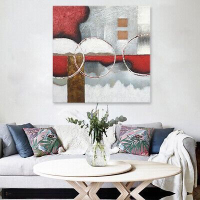 Handmade Oil Painting Home Deco On Canvas Abstract Wall Art Drawing 80*80cm