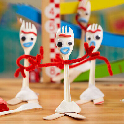 14cm Forky Diy kit Toy Story 4 MAKE YOUR OWN FORKY TOY kids Toys Gifts