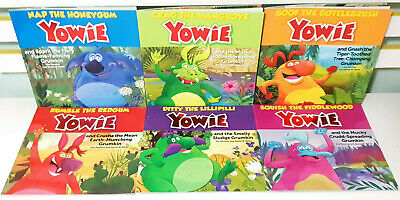 Complete Set of 6x Yowie Picture Books! Nap, Crag, Boof, Rumble, Ditty & Squish!