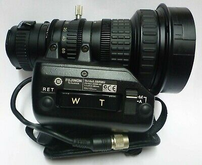 FUJINON Th16x5.5BRMU 1:1.4/5.5-88mm Broadcast Zoom Lens FUJINON TV-ZOOM Lens