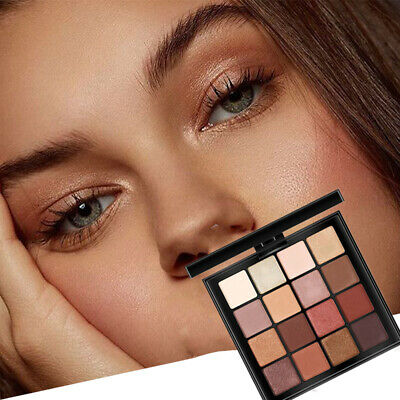 16 Colors Eyeshadow Palette Beauty Makeup Shimmer Matte Gift Eye Shadow New