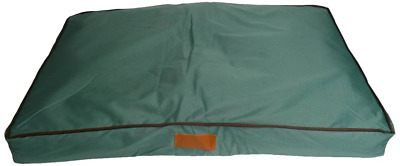 "Extra Large Waterproof Dog Bed 117x75cm Green Fits 48"" Ellie-Bo Crate Pet Cage"