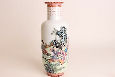 Very Nice Antique Chinese Ching Porcelain Vase,  Republic Perfect 35 cm
