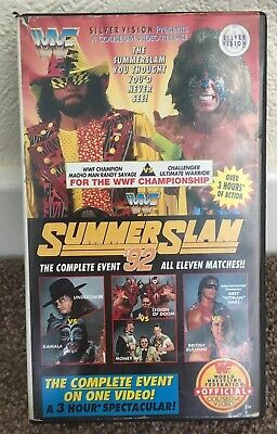 WWF SummerSlam '92 - Wembley Wrestling - Complete Event - Eleven Matches WWE