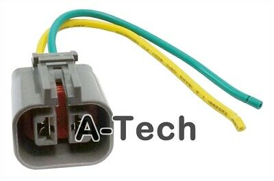 ALTERNATOR 2 PIN Repair Plug Harness Pigtail Connector For Nissan Maxima ALTIMA