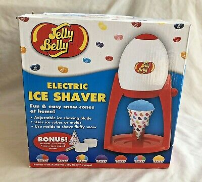New In Box: Jelly Belly Electric Ice Shaver For Fun & Easy Snow Cones At Home