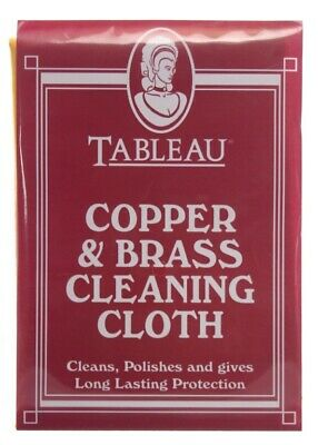 Brass And Copper Cleaning Cloth Cleans And Polishes Fast Postage