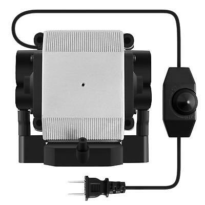 VIVOSUN 332 GPH Air Pump 4 Outlets Adjustable for Aquarium Fish Hydroponics 14W