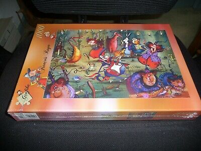Grafika T-00555 The Witches Festival Ruyer 1000 Piece Jigsaw Puzzle New Sealed