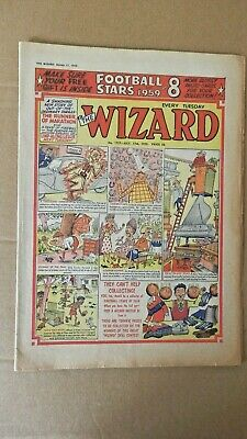 THE WIZARD comic No 1757 with free gift (1959)