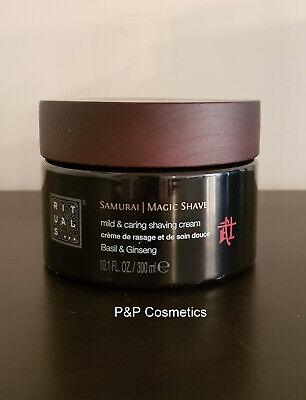 Rituals Samurai Shaving Cream Magic Shave 10.1 FL 300ML! Next Object Free Ship