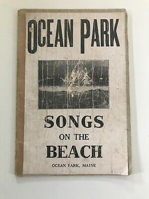 Ocean Park Songs On The Beach Maine Book Antique