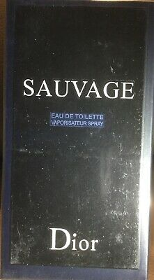 Christian Dior Sauvage 3.4 oz Men's Cologne EDT Spray NEW AUTH Sealed! Dior
