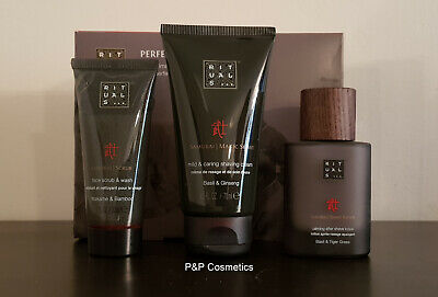Rituals Samurai Perfect Shave Collection: Scrub & Shaving Cream & Shave Lotion
