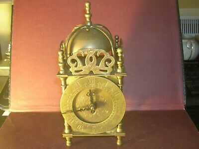 Smiths Brass Domed Carriage Clock with key and GWO