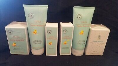 JAFRA TENDER MOMENTS BABY 6 Piece Set Cologne+Cream+Wash+Sunscreen+Bottom Balm