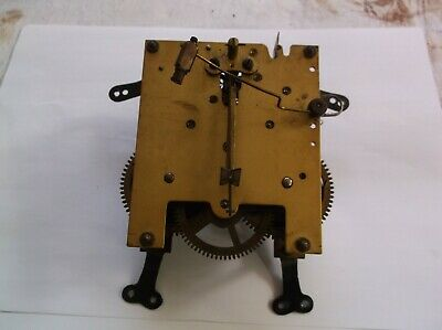 A  Mechanism  From An Old  Mantle Clock Working Order Ref Vp 44