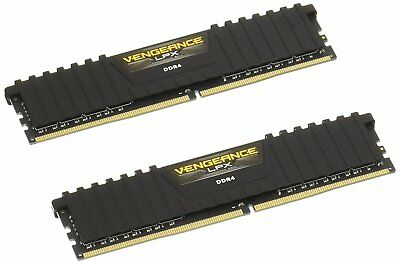 Corsair Vengeance Memory Kit Desktop LPX 32GB (2x16GB) DDR4 DRAM 2400MHz C16