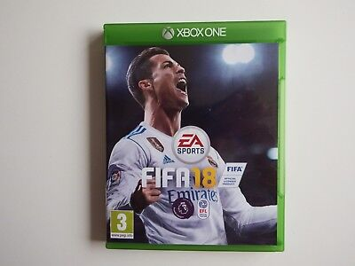 FIFA 18 for Xbox One in MINT Condition