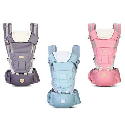 Ergonomic Strong BREATHABLE Adjustable Baby Carrier Backpack COTTON