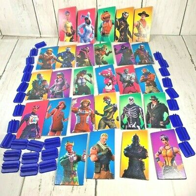 Monopoly Fortnite 27 Cardboard Outfits 28 Pawn Stands 2018 Replacement Pieces