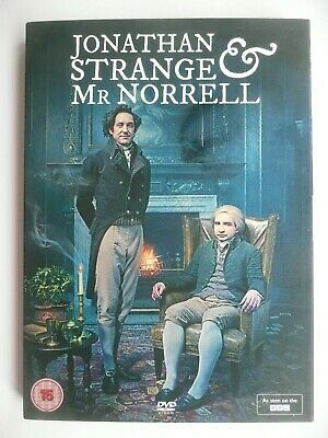 Jonathan Strange and Mr Norrell (DVD, 2015, 2-Disc Set) with slip cover