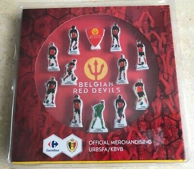 "Feves Coffret Collector Foot ""Diables Rouges"" - ""Belgian Red Devils"""