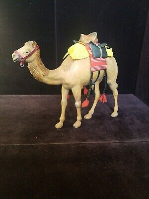 Antique Vtg Hand Carved Wood Anri Karl Kuolt Nativity Camel RARE Figure