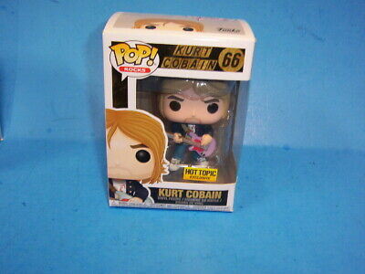 KURT COBAIN Funko Pop! NIRVANA #66 HOT TOPIC